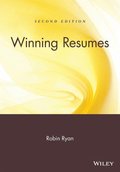 winning resumes robin englisches buch buecher de