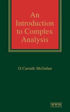 Complex Analysis - McGehee, O. C.