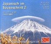 4 Audio-CDs / Japanisch im Sauseschritt Bd.2A/B