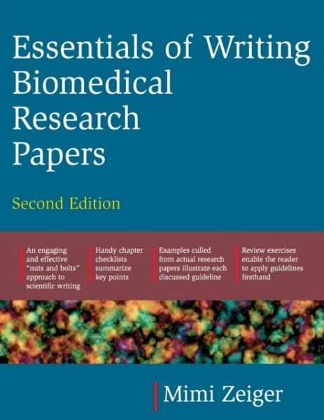 writing biomedical research papers Hkmj vol 7 no 1 march 2001 105 book reviews essentials of writing biomedical research papers, second edition by: zeiger, m mcgraw-hill book company, suite 2310, one.