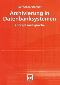 Archivierung in Datenbanksystemen