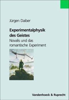 Experimentalphysik des Geistes - Daiber, Jürgen