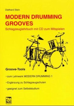 Modern Drumming Grooves, m. Audio-CD