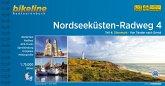 Bikeline Nordseeküsten-Radweg 4 Nordseeküsten-Radweg. 1:75000
