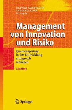 Management von Innovation und Risiko - Gassmann, Oliver / Kobe, Carmen (Hgg.)