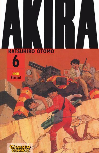 Buch-Reihe Akira