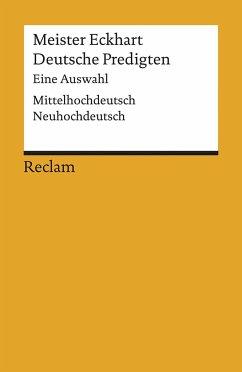 Deutsche Predigten - Meister Eckhart