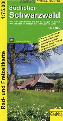 GeoMap Karte Südlicher Schwarzwald