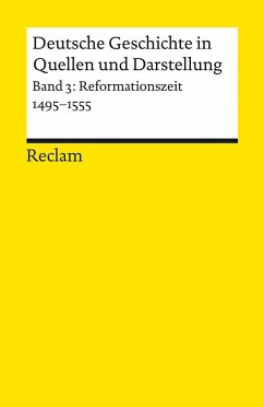 Deutsche Geschichte 3 in Quellen und Darstellungen - Köpf, Ulrich (Hrsg.)