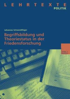 Begriffsbildung und Theoriestatus in der Friedensforschung - Schwerdtfeger, Johannes