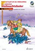 Für Altblockflöte, m. Audio-CD / Die schönsten Weihnachtslieder, Notenausg. m. Audio-CDs