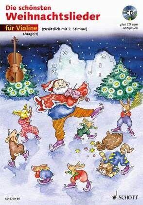 Schönsten Weihnachtslieder.Für Violine M Audio Cd Die Schönsten Weihnachtslieder Notenausg M Audio Cds