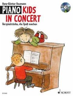 Piano Kids, In Concert, m. Audio-CD - Heumann, Hans-Günter