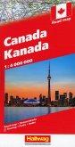 Kanada; Canada/Hallwag Straßenkarten