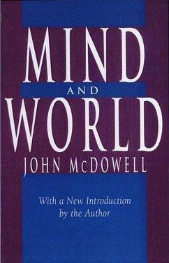 Mind and World - McDowell, John