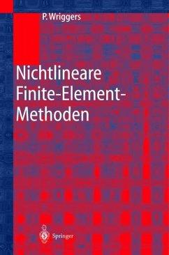 Nichtlineare Finite-Element-Methoden - Wriggers, Peter