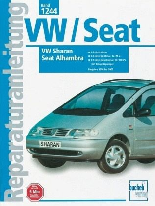 vw sharan seat alhambra von baujahr 1998 2000 buch. Black Bedroom Furniture Sets. Home Design Ideas