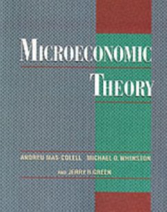 Microeconomic Theory - Mas-Colell, Andreu; Whinston, Michael D.; Green, Jerry R.