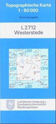 Westerstede / Topographische Karten Niedersachsen Ausg. L, Bl.2712