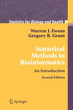 Statistical Methods in Bioinformatics - Ewens, Warren J.; Grant, Gregory R.
