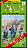 Doktor Barthel Karte Kohrener Land, Colditzer Forst und Umgebung