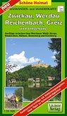 Doktor Barthel Karte Wälder um Zwickau, Werdau und Greiz und Umgebung