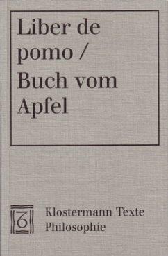 Liber de pomo / Buch vom Apfel - Acampora-Michel, Elsbeth (Hrsg.)
