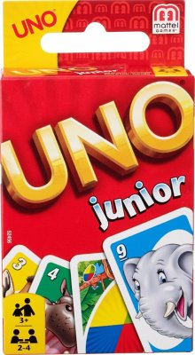 Mattel Games Uno Junior Kartenspiel