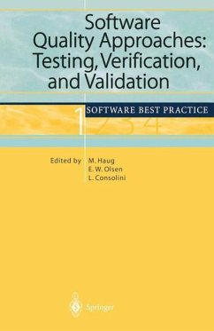Software Quality Approaches: Testing, Verification, and Validation - Haug, Michael / Olsen, Eric W. / Consolini, Luisa (eds.)