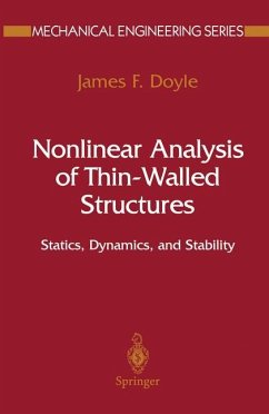 Nonlinear Analysis of Thin-Walled Structures - Doyle, James F.