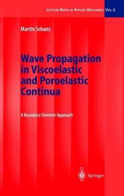 Wave Propagation in Viscoelastic and Poroelastic Continua - Schanz, Martin