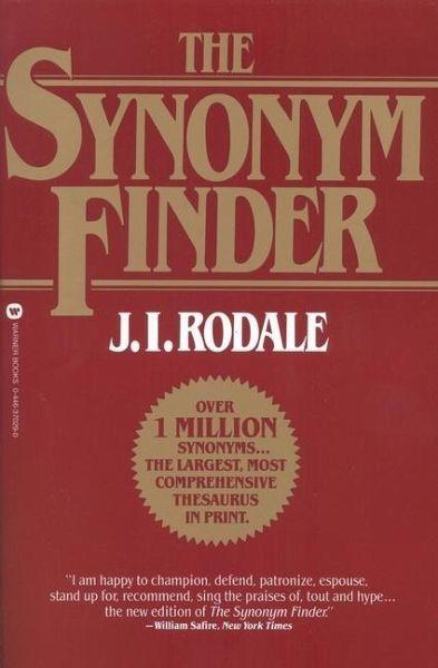 the synonym finder von j i rodale englisches buch b. Black Bedroom Furniture Sets. Home Design Ideas