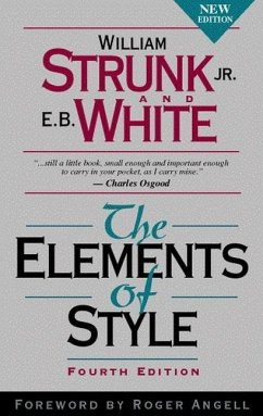 The Elements of Style - Strunk, William, Jr.