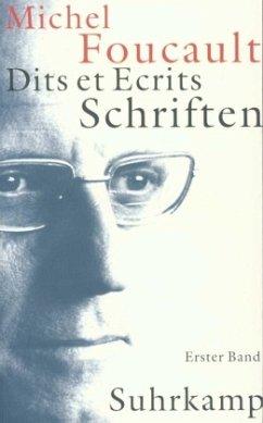 1954-1969 / Schriften, Dits et Ecrits, 4 Bde., kt Bd.1 - Foucault, Michel