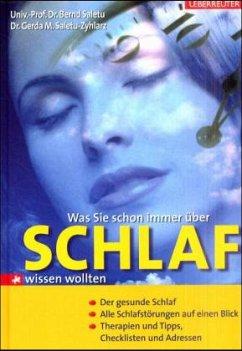 Was Sie schon immer über Schlaf wissen wollten - Saletu, Bernd; Saletu-Zyhlarz, Gerda