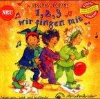 1, 2, 3, wir singen mit, 1 Audio-CD