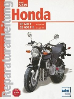 Honda CB 600 F/F II Hornet ab Baujahr 1998 - Jung, Thomas