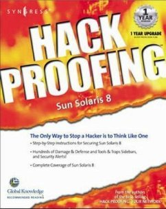 Hack Proofing Sun Solaris 8 - Syngress