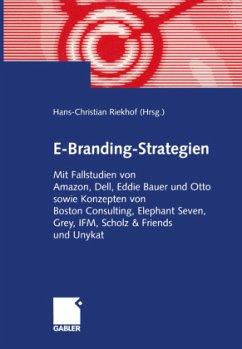 E-Branding-Strategien - Riekhof, Hans-Christian (Hrsg.)