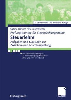 Steuerlehre - Dittrich, Sabine; Jürgenliemk, Ilse