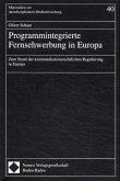 Programmintegrierte Fernsehwerbung in Europa