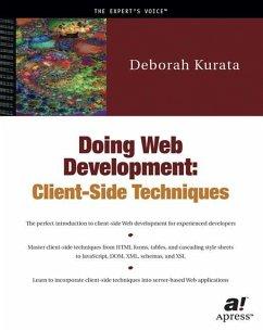 Doing Web Development