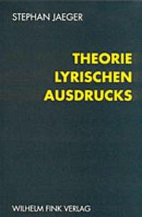 Theorie lyrischen Ausdrucks