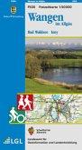 Topographische Freizeitkarte Baden-Württemberg Wangen im Allgäu