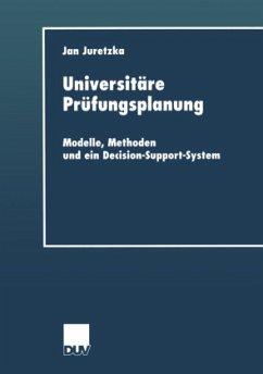 Universitäre Prüfungsplanung - Juretzka, Jan
