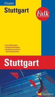 Falk Plan Stuttgart, Cityplan