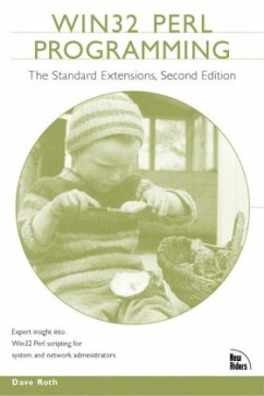 Win 32 Perl Programming: The Standard Extensions - Roth, David