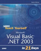 Sams Teach Yourself Visual Basic .Net 2003 in 21 Days