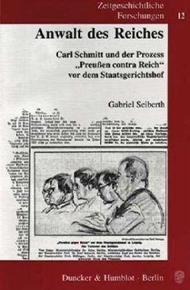 Anwalt des Reiches - Seiberth, Gabriel