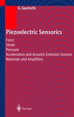 Piezoelectric Sensorics - Gautschi, Gustav H.